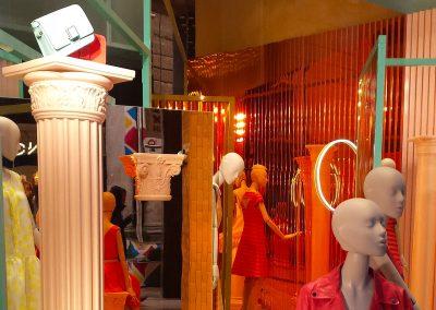Italian fashion store in Milan (Italy)