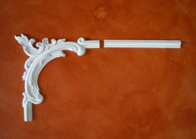 AB/177 - 37,9,37,9 cm.  CB/177 - H. 3,3 - L. 150 - P. 1,7 cm.