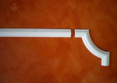 CB/154 - H. 5 - L .150 - P. 2 cm.  AG/154 - 22,5x23,5 cm.