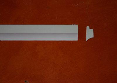 CB/156 H. 5,5 - L. 150 - P. 2,5 cm.