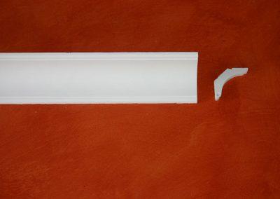 SB/086 - 6,5x6,5 - H. 8,5 - L. 150 cm.